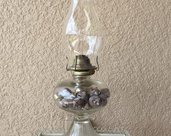 Oil Burning Lantern with Eagle Burner