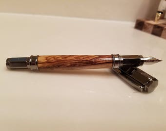 Bethlehem Olive Wood Fountain Pen