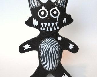 "Mangle ~Handmade~ Phantom/ Nightmare Five Nights at Freddy's Fnaf Plush 11"" inch OOAK"