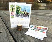 Seasonal Desk Calendar Set