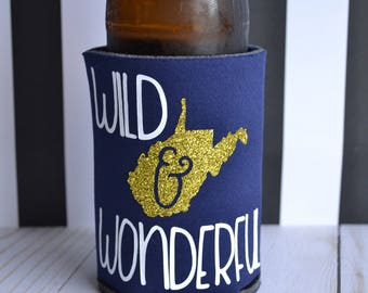 Wild and Wonderful - WV Inspired - Can Sleeve