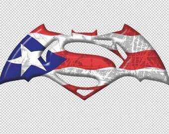 Puerto Rico Flag Decal V2
