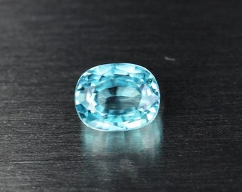 Natural Blue Zircon 2.52 ct (See video)