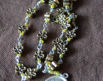 Little Flower Chaplet- Buttercup