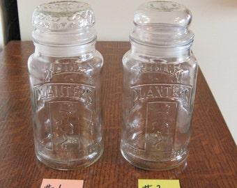 Jars, Planters Jars, 1981 Planters Peanut Jars, Glass Jars