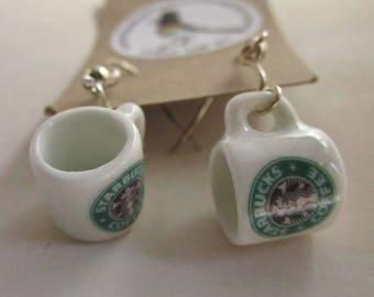 Starbucks  Mug Earrings