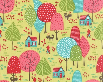 Moda Fabric -  Lil' Red - Stacy Iset Hsu - 20502 17 - Cotton fabric by the yard(s)