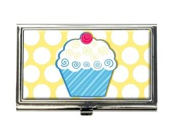 Tasty Cupcake Business Credit Card Holder Case