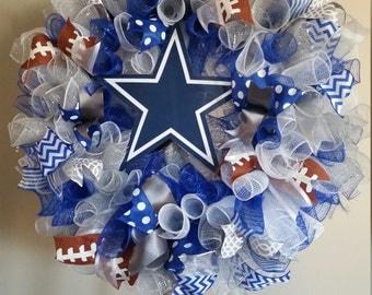 Football Wreath, team wreath