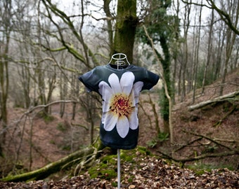 Women's Floral Tshirt, Full Dye Sublimation, Photography, Stunning, Super comfy & made in the UK! + FREE signed 6X4 of original Photograph