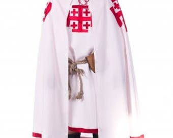 Costume of Knight of the Holy Sepulchre of Jerusalem larp by Steel Mastery™