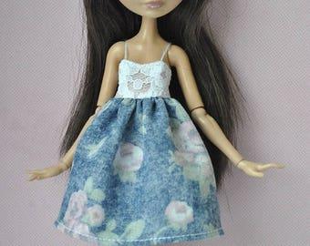 Handmade dress  for Ever After High ,Monster High dolls