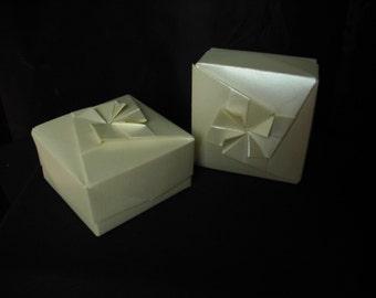 Pearl Origami Box