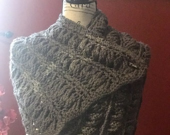 Gweneth's Cable Scarf