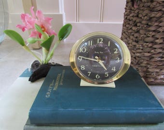 Baby Ben Vintage Alarm Clock Wind Up Westclock Decor Mid Century Photo Prop