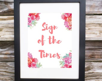 Sign of the Times Digital Print, Harry Styles quote digital print, Harry Styles Sign of the Times Art