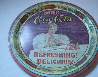 Vintage 75th Anniversary Coke Tray 1970's