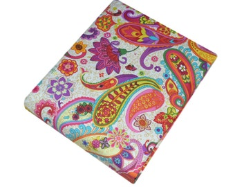 Paisley Fabric, Fabric by the yard, Fat Quarter, Quilting Fabric, Apparel Fabric, 100% Cotton Fabric