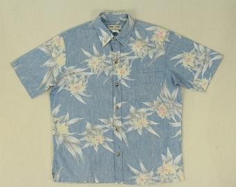 Cooke Street Shirt Vintage Cooke Street Shirt Cooke Street Hawaiian Shirt Reversed Print Hawaiian Shirt