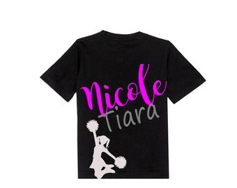 Personalized kid's name shirt with image. It comes in all sizes toddler-big kid sizes. This shirt makes a great gift for a child.