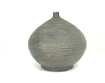 studio pottery  weed pot signed and dated 1962 free shipping