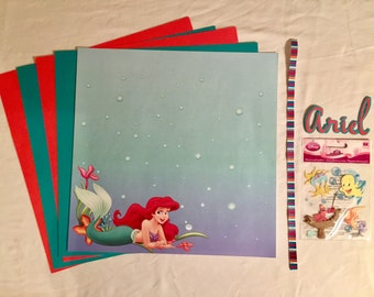 Ariel Scrapbooking Kit