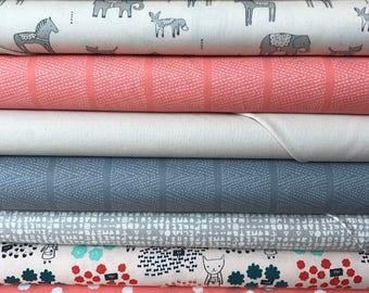 Fat Quarter Bundle, 8 fabrics, Cotton+Steel, Dear Stella, Custom Bundle