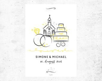 Poster / wedding no.. 1