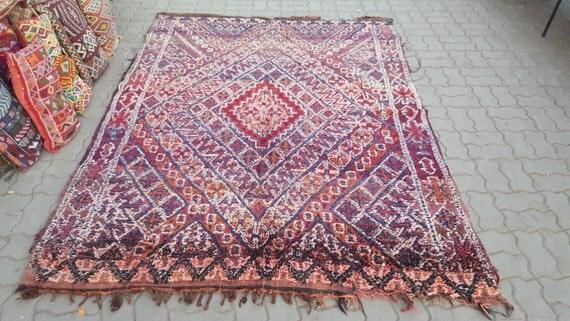 Berber beni mguild rug tapis berbère alfombras maroques
