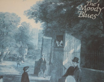 The Moody Blues vinyl record album, Moody Blues Long Distance Voyager vintage vinyl record