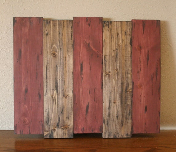 Reclaimed Wood Signs: Blank Rustic Pallet Sign Reclaimed Wood Board Distressed