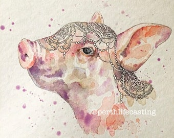 Pillow the Pig