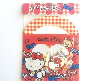 Hello Kitty Sticker Flakes (Red)
