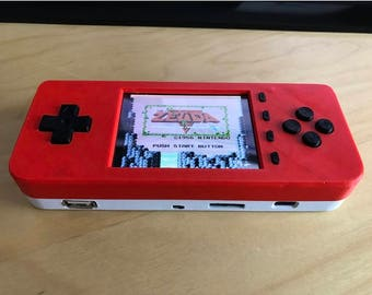 PiGRRL ZERO PLUS Raspberry Pi Game Console by adafruit--Case and Buttons only