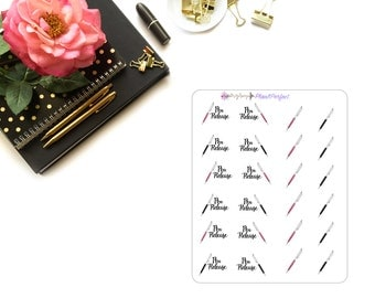 Crystal Pen Stickers/Pen Stickers/ Crystal Pens. Perfect for your planning and scrapbooking needs!