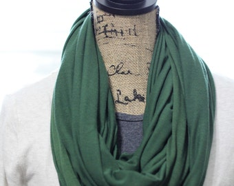 Hunter Green Infinity Scarf