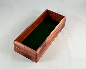 Mens Valet Box, Wooden Keepsake Box, Valet Box, Men's Valet, Keepsake Box, Wooden Jewelry Box, Wood Treasure Box, Jewelry Box Mens