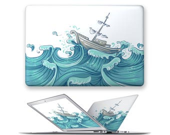 macbook air 13 hard case rubberized front hard cover for apple mac macbook air pro touch bar 11 12 13 15 sailing