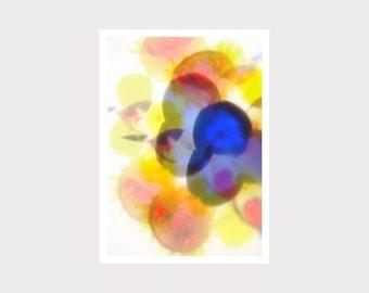 Print, Druck, Kunstdruck, Wall Art Print, wohnen, zu Hause, interior design, yellow, blue