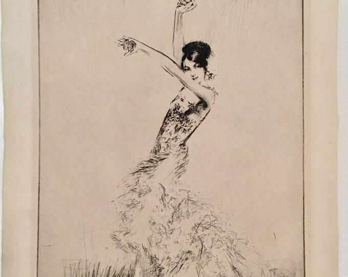 Troy Kinney, Doris Niles, 1928, Pencil Signed