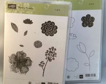Raining Flowers stamp set by Stampin Up