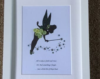 Tinkerbell button picture