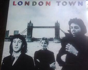 Paul McCartney Wings London Time Record, 1970's.