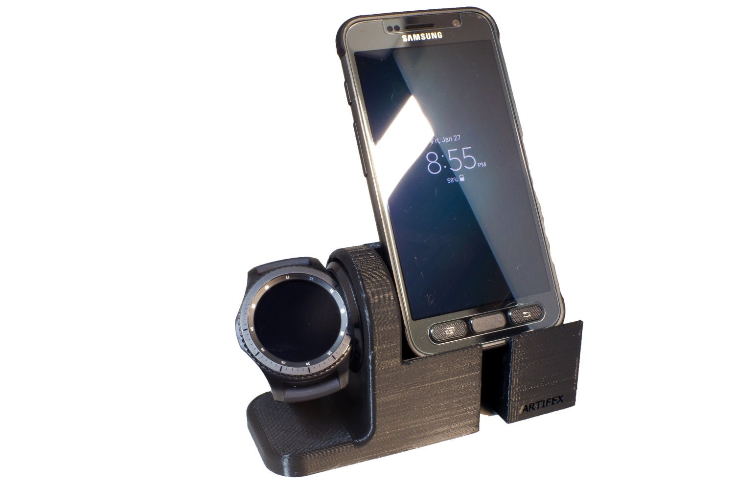 Samsung Gear S3 Watch Stand Artifex Charging Dock Stand for