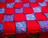 King Sized CHICAGO Cubs Quilt