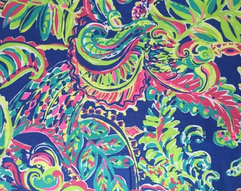 """18""""x18"""" ~ TOUCAN PLAY ~ Lilly Pulitzer Fabric"""