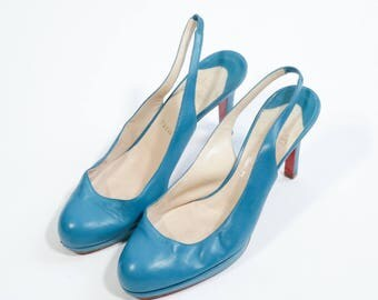 LOUBOUTIN - Leather shoes