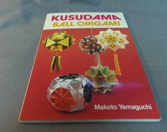 Origami Patterns Instructions, Kusudama Ball Origami by Makoto Yamaguchi, 1999