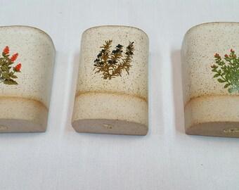 Set of 3 Takahashi Wall Vases