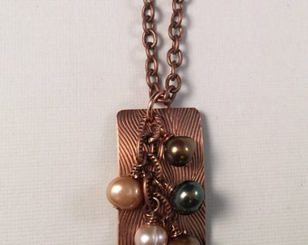 Copper & Pearls